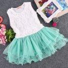 6 Months Dress Infant Girls Dress Mint Green Dress for Girls Tutu Dress Rosette Summer Dress