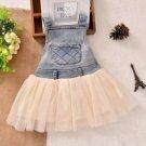 12 Months Denim Dress for Girls Denim Summer Dress Newborn Dress Newborn Ivory Tutu Jumper