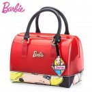 RSS Boutique Barbie Red Totes Bags Fashion Cartoon Pretty Blond Girl Tote Bags for Barbie Women