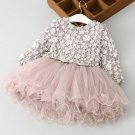 RSS Boutique Ready to Ship 6-9 Months Purple Dress for Girls Spring Dress FREE Headband