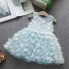 RSS Boutique Birthday Girl Dresses with Pretty Butterfly Patches with FREE HEADBAND