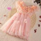 Sleeveless 18-24 Months Pastel Pink Tutu Dress READY Flower Petal Patchwork Girls Pink Dresses