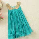 Single 5t Toddler Girls Blue Dress Turquoise Princess Dress Double 56 Inspired Blue Tulle Dresses