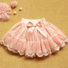 READY TO GO 6-9Months Pink Skirts Very Cute Baby Skirts Pearls Floral Thicker Tuller