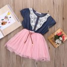 Country Girls Cowgirl Dress for Infant Girls 12 Months Pink Dress Barn Wedding Outfit for Girls