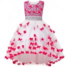 RSS Boutique 2t Pirncess Dress Butterfly Patchworks Coral Pink Sleeveless Pink Tutus