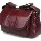 ON SALE Burgundy Bags Many Pockets and Compartments Traveling Bags Crossbody Bag Leather Bags