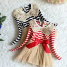 Merry Christmas Dress 3-6 Mos Newborn Girls Dress ON SALE Candy Canes FREE Bow Headband