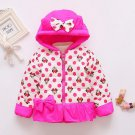 Bright Hotpink 3t Minnie Mouse Hooded Parkas Disney World Polka Dots Red Parka READY TO SHIP Jackets