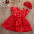Christmas Dress for 3-6 Months Candy Canes FREE SHIPPING Red Headband Baby Dresses