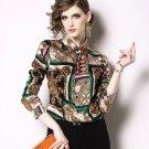 Runaway Brand Golden Blouses for Women Beauty Enhancer for Professional Women's Blouses