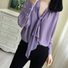 Loose Blouses for Women New Purple Blouses RSS 2019 Blouses Spring Lavander Tops for Women
