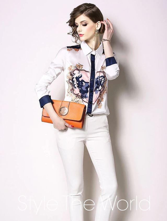 New Style of Princess K Blouses Fashion White Blouses for Women
