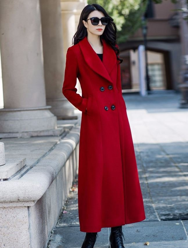 High Quality Warm Overcoats for Women Thick Wool Pockets Winter Coats Outerwear for Women