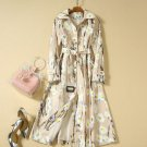 Women's Fashion Dresses for Women Printed Daisy Flowers Ivory Dress for Princesses