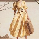 New Inventory Yellow Maxi Dress for a Beautiful Lady Free Shipping Yellow Dress for Spring