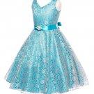 Princess Elsa Dress Prom Blue Dresses Wedding Birthday Formal Wear Teen Girls