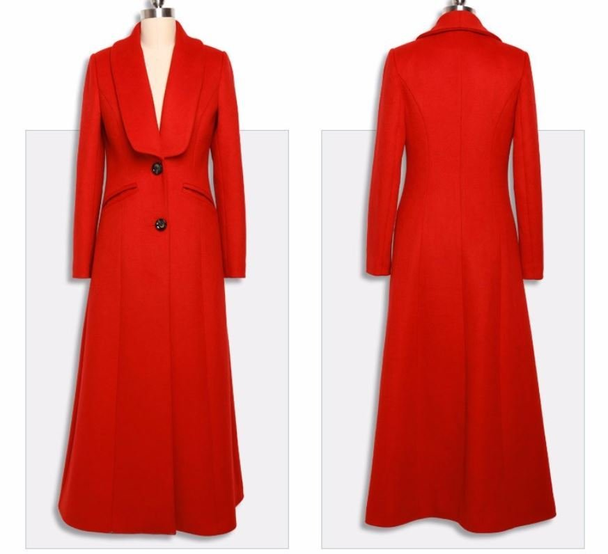 High Quality Thick Wool and Warm Overcoats for Women Big Lapel Fashion Overcoats for Women
