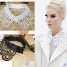 Free Shipping ONE Piece of Fake Collar Black Necklace New Fashion Hollow Collars for Women