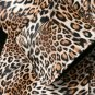 New Trendy Coats for Women Leather Brown Overcoats for Women Leopard and Snake Skin