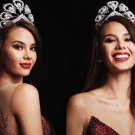 Twinning Catriona Gray's Crown Miss Universe Peacock Bridal Crown with FREE Peacock Brooch