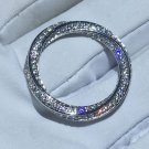 Top Quality Entwined Rings Pure 925 Sterling Silver Rings Engagement Rings for Women