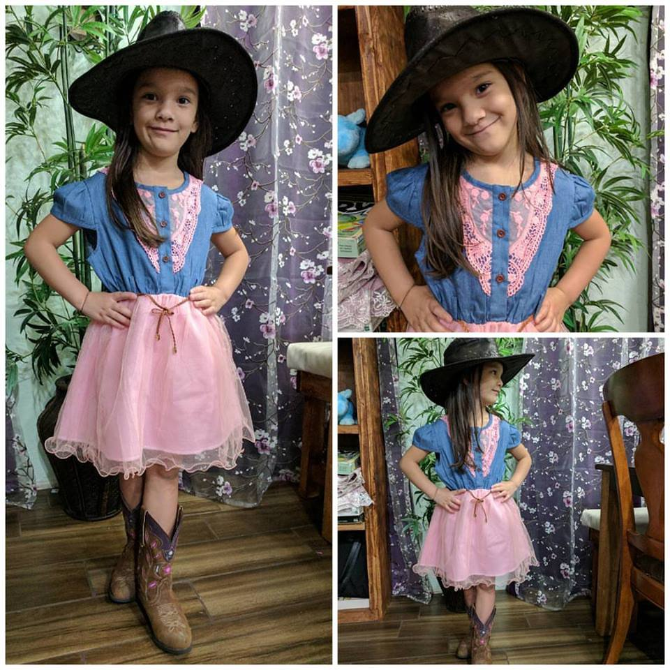 Texas Festivals for Little Cowgirls Dresses 9-12mos,12-24mos,2t,3t,4t,5t Pink Western Theme
