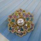 Austrian Stones Luxury Brooch Full Measure Crystal Brooch for Women Fine Collection