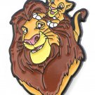 The Lion King and Simba Brooch for Men and Women Free Shipping Lion Form Pins