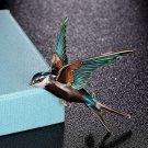 Jewelry for Men Swallow Bird Shape Brooch Bouquet Fashion Pins for Women's Bird Brooches