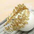 Leaf Pattern Leaves Headpiece Golden Headbands Wedding Accessories for Toddler Girls