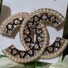 Birthday Gift Brooches Luxurious High Quality Pins for Women Fashion Elegant Brand CC Brooch