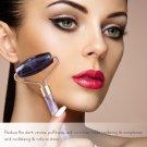 Beauty Enhancer Double Head Purple Roller Slimming Anti Wrinkle-Amethyst Face Roller Gua Sha Tool