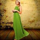 Beautiful Green Dresses for Women European Sleeveless Green Dress-Spring Dress