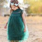 Beige Dress for Little Girls Sleeveless Spring Dress Sleeveless Beige Dress for Girls