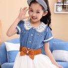 Rudelynssarisaristore.com SALE Denim Dress for Tween Girls Fashion Dress with Belt