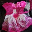 SALE! Baby Girls Dress Pink Tutu Dress with Shrug Floral Dress for Spring Formal Dresses for Girls