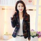 New Blazers for Women Blue Blazers for Women Fashion Trend Plaid Blazers for Women