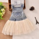 Denim Dress for Infant Girls Denim Overall