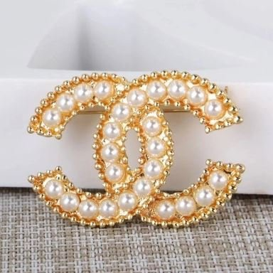 RSS Boutique Brand CC Brooch New Golden Brooch for Women Monogram Brooches