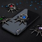 1PCs Finger Ring Holder 360 Rotate Mobile Phone Stands Samsung S10 Iphone X Metal Green Spider Bling