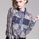 RudelynsSariSaristore.com Cowgirls Blouses On Hand Paisley Blouse for Women Designer Fashion Tops