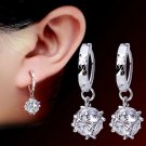 Grandeur 925 Sterling Silver Earrings Affordable Jewelries for Women Protected Ball Crystal