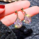 Face Accent Sparkling Jewelries for Beauty Enhance Tear Drop Earrings for Women