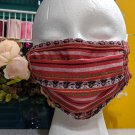 2pcs Embroidered Tribal Mask RudelynsSariSariStore.com Handmade Igorot Mask Striped Pattern