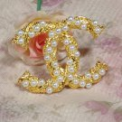 Newest CC Brooches Golden Brooches Pearls and Branches Free Shipping Luxury Jewelries for Women