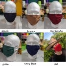 4pcs Large Size Facemasks for Men RudelynsSariSariStore.com 2pcs Printed Color and 2ps Solid Color