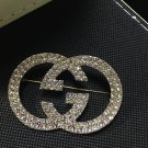 RudelynsSariSariStore.com New Golden Pin Fashion Designer GG Brooch for Women