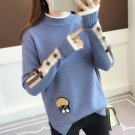 RudelynsSariSariStore.com Fashion Cardigan Teenage Girls Lovely Blue Sweaters for Women
