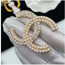 RSSLyn BUY THREE TAKE ONE Luxury Brooches Opposite Crystal On One Side and Pearl The Other Side